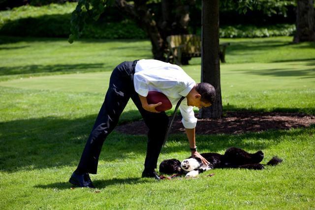 presidente-obama-com-seu-cao