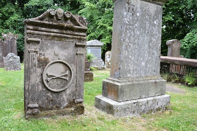 Imagem de cemitério para cães